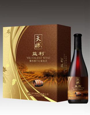 天赋橡木桶干红葡萄酒-酒庄-红酒网-中国葡萄酒门户