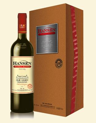 汉森有机酒庄典藏赤霞珠葡萄酒